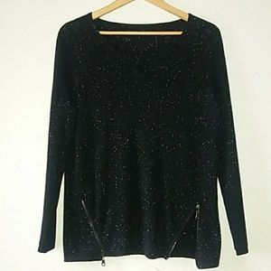 100% Cashmere lite weight sweater NWOT